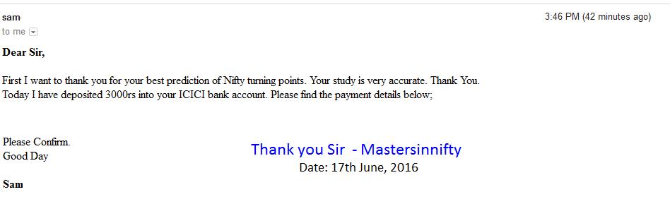 Mastersinnifty is No 1 Stock Market Advance Forecasting